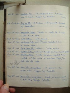 Incident Log: 1936 - 1965